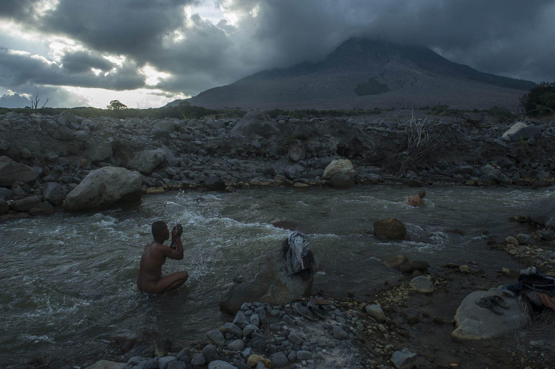 Daily Life Between The Volcano Hazards Zone