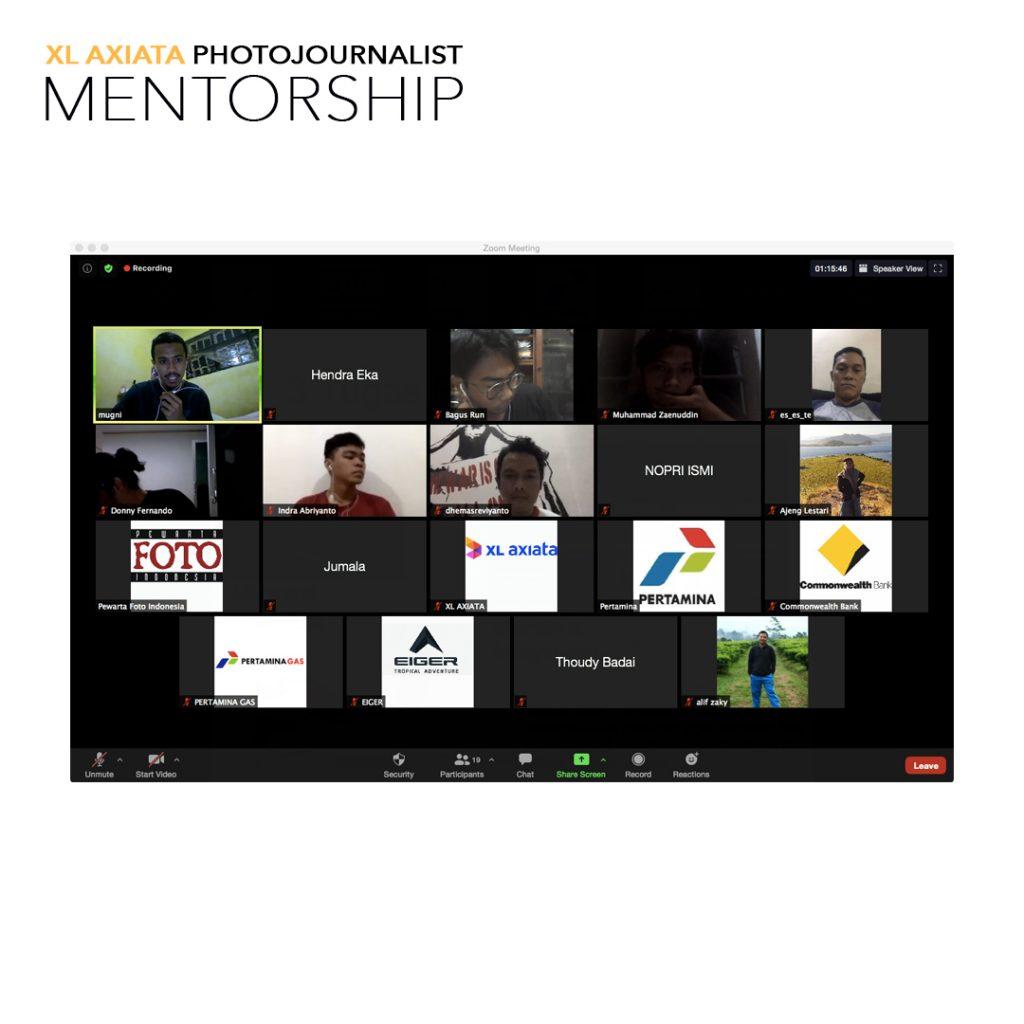 xl axiata photojournalist mentorship, kelas editing I
