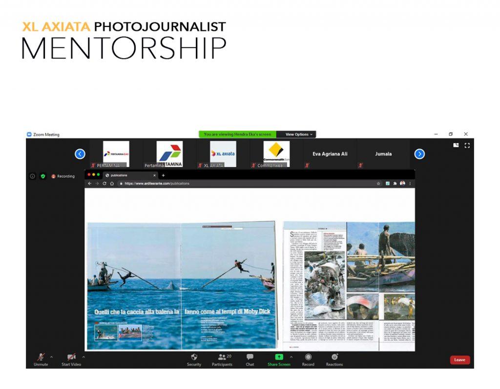 Kelas IX XL Axiata Photojournalist Mentorship 2020